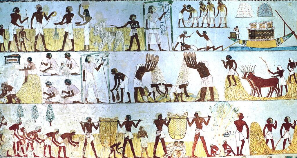 Жизнь древних египтян