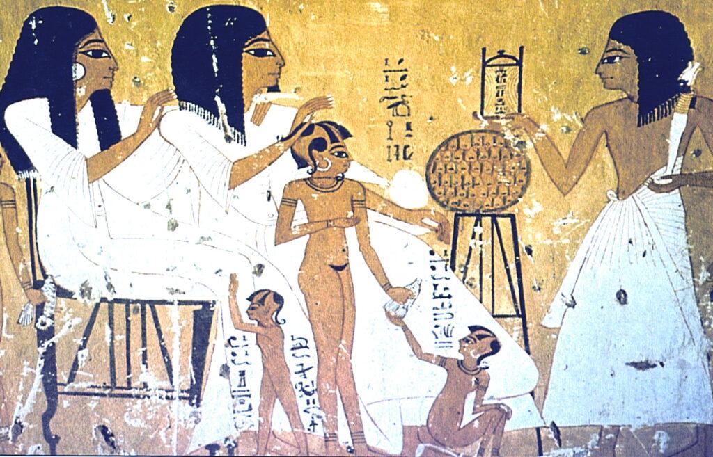 Дети египтян