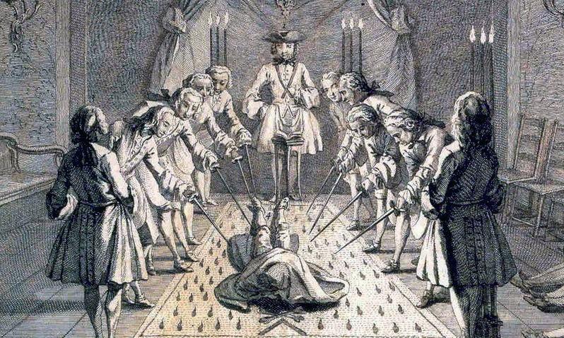 Ритуалы Масонов