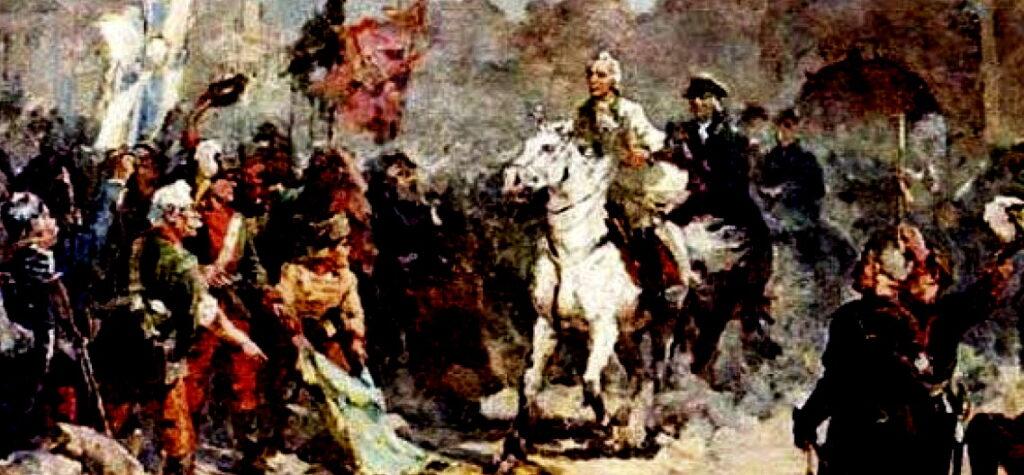Суворов на коне
