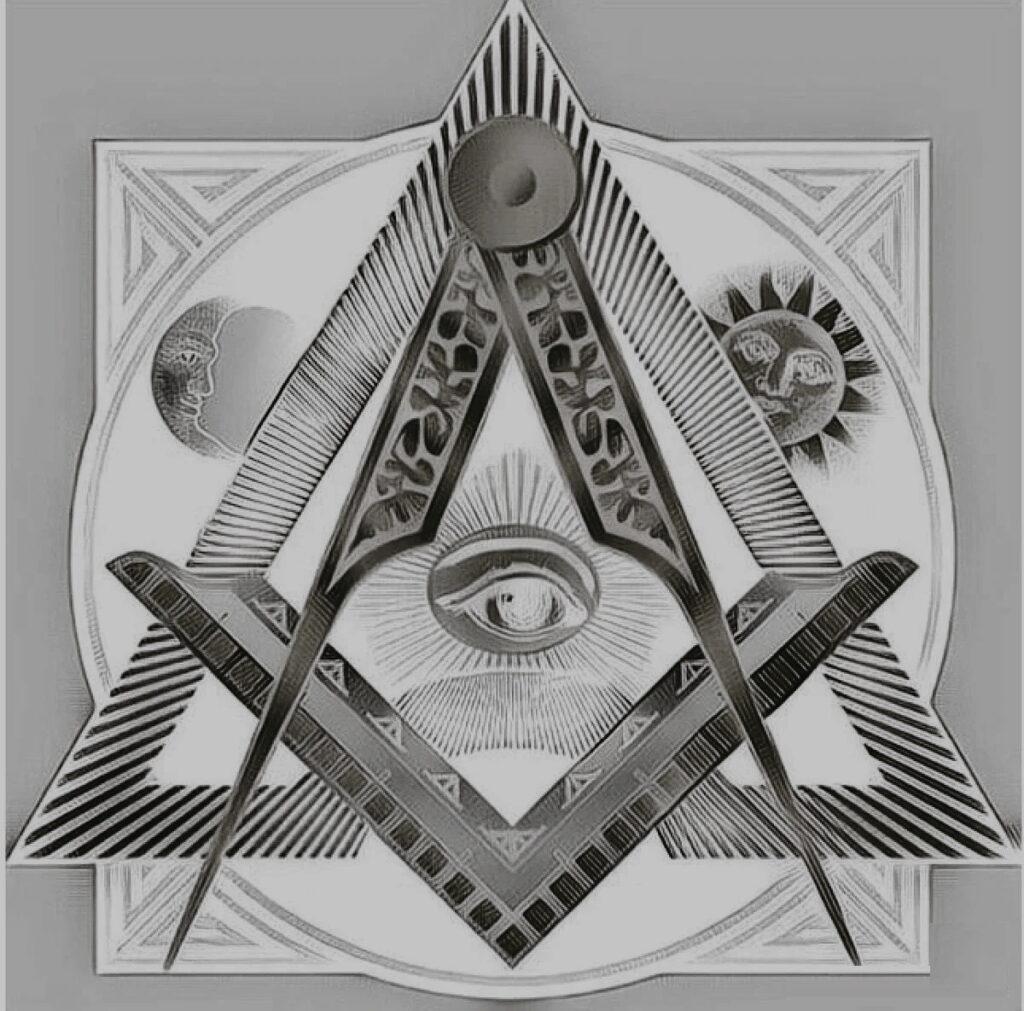 Тайный символ Масонов.