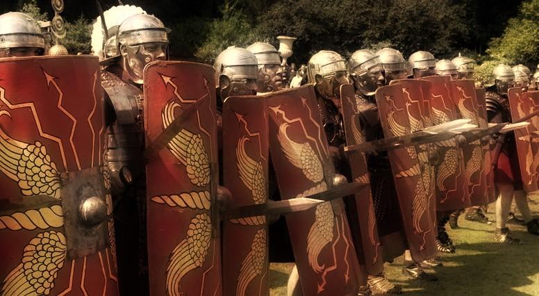 Древнеримские солдаты