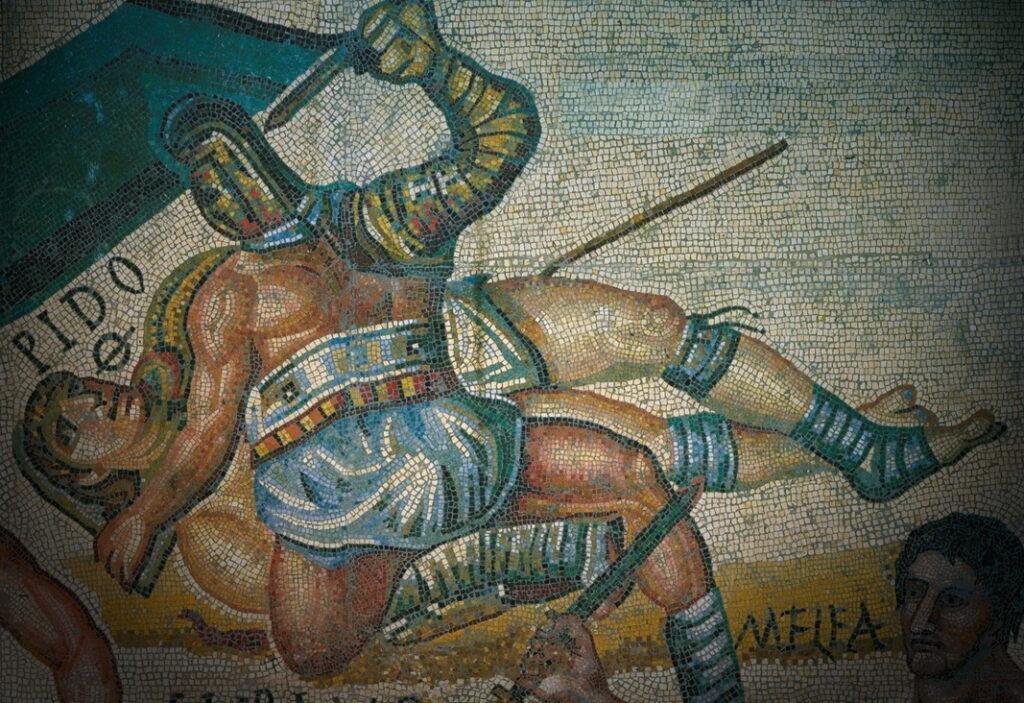 Гладиаторы бой