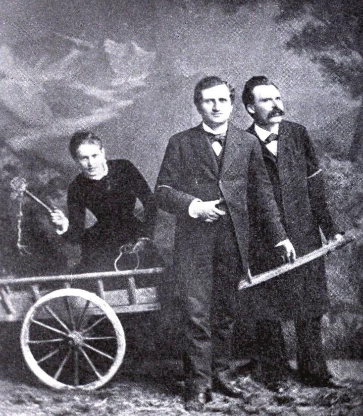 Ницше погоняют кнутом