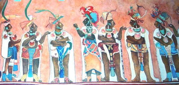 Внешность древних Майя