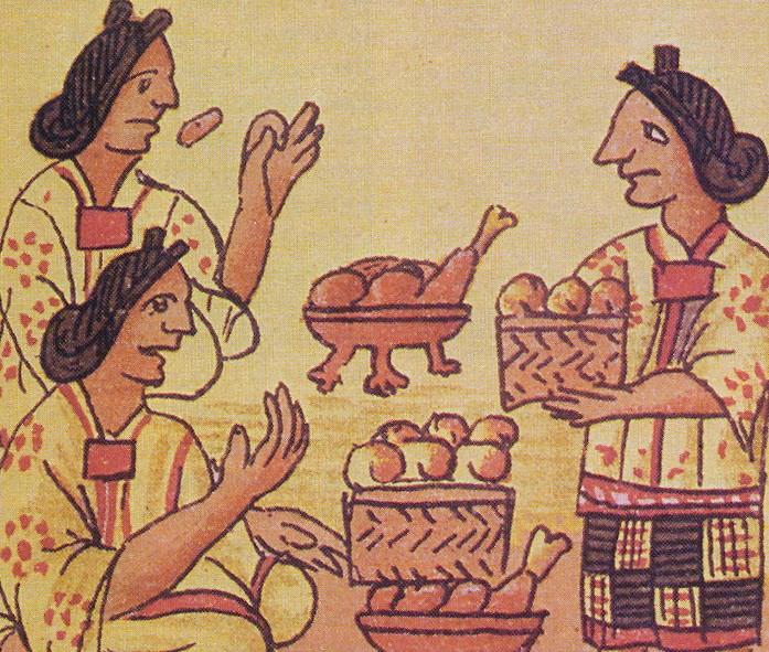 Питание древних Майя