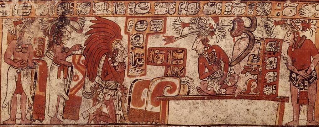 Жизнь древних Майя