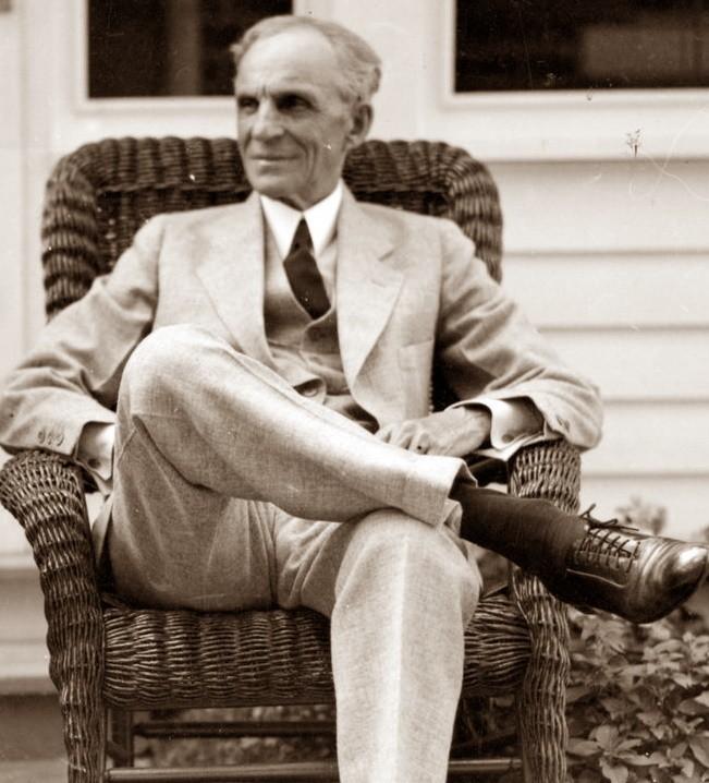 Генри Форд был отцом автомобиля.