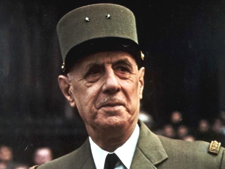 Шарль де Голль был избран президентом Франции