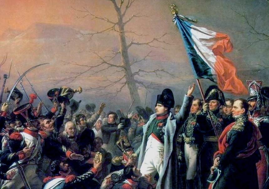 Наполеон побег с Эльбы