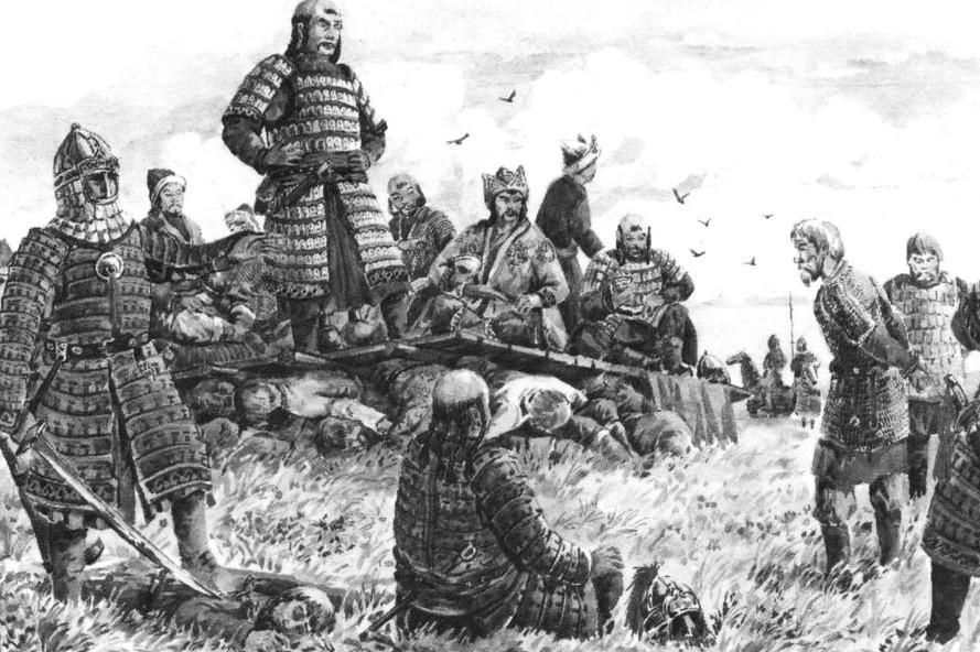 Чингисхан победил русских князей