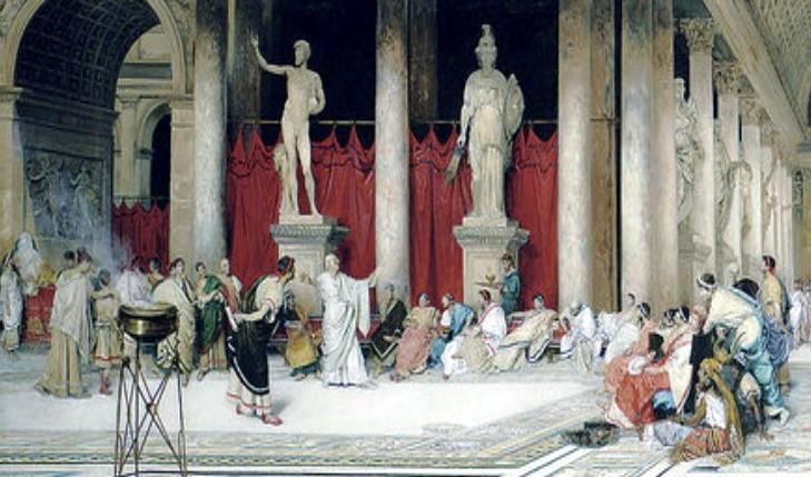 Древний Рим статуи богов