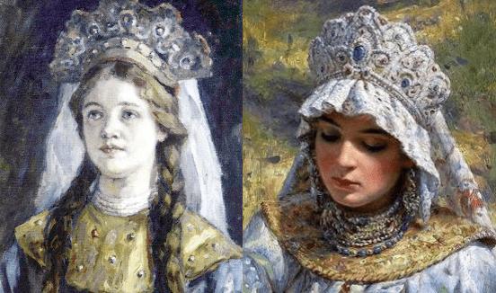 Анна Колтовская  и Анна Васильчикова