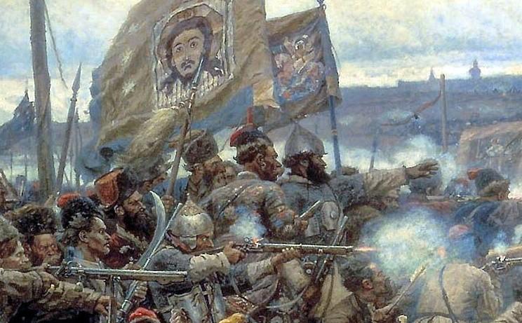 Атака русского войска