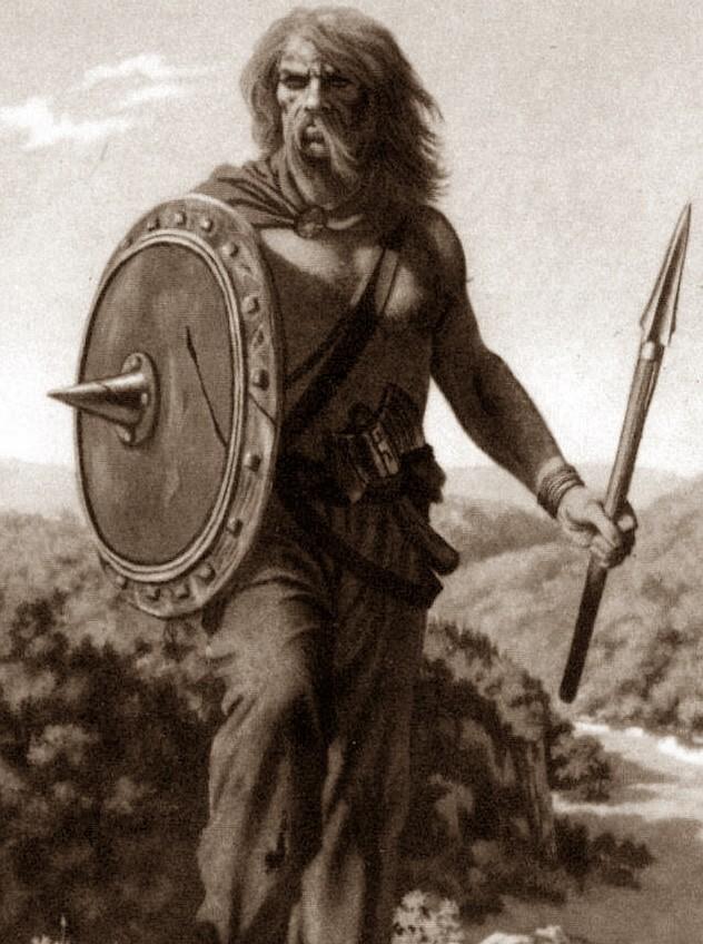 Гальский воин