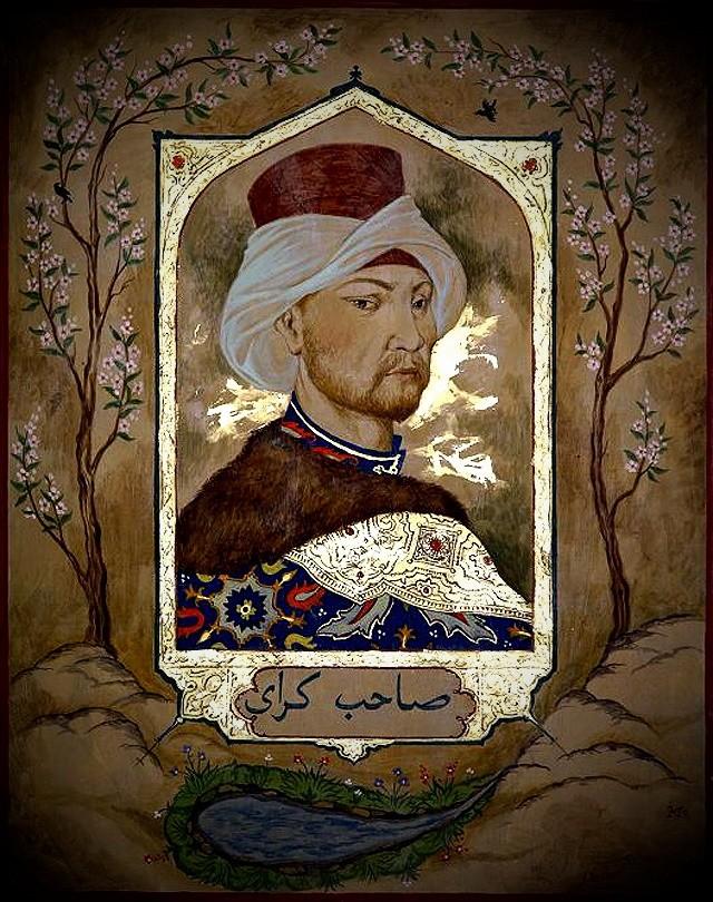 крымский хан Девлет Гирей