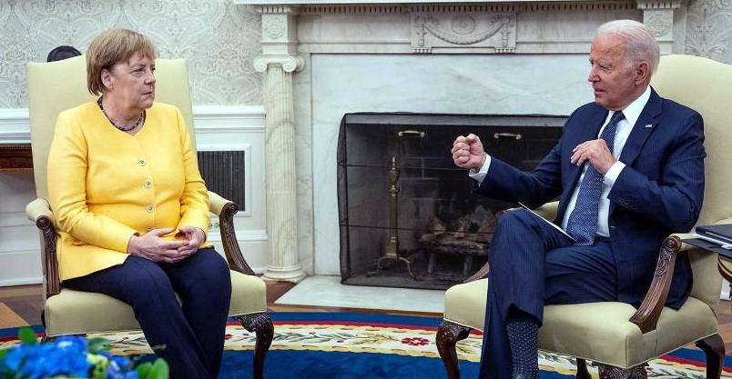 Встреча Байдена с Меркель