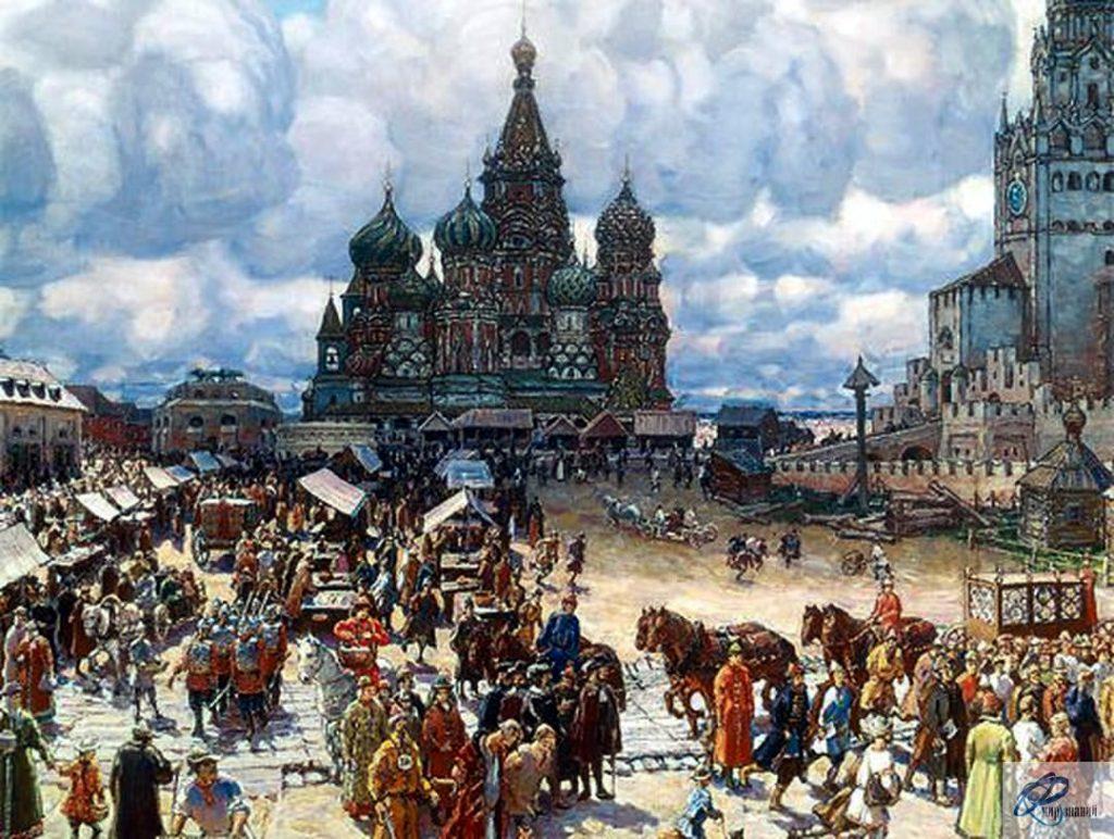 Москва при Иване Грозном