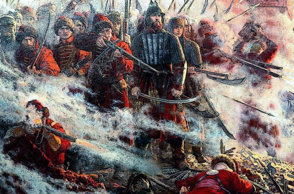 Стрельцы Ивана Грозного в бою