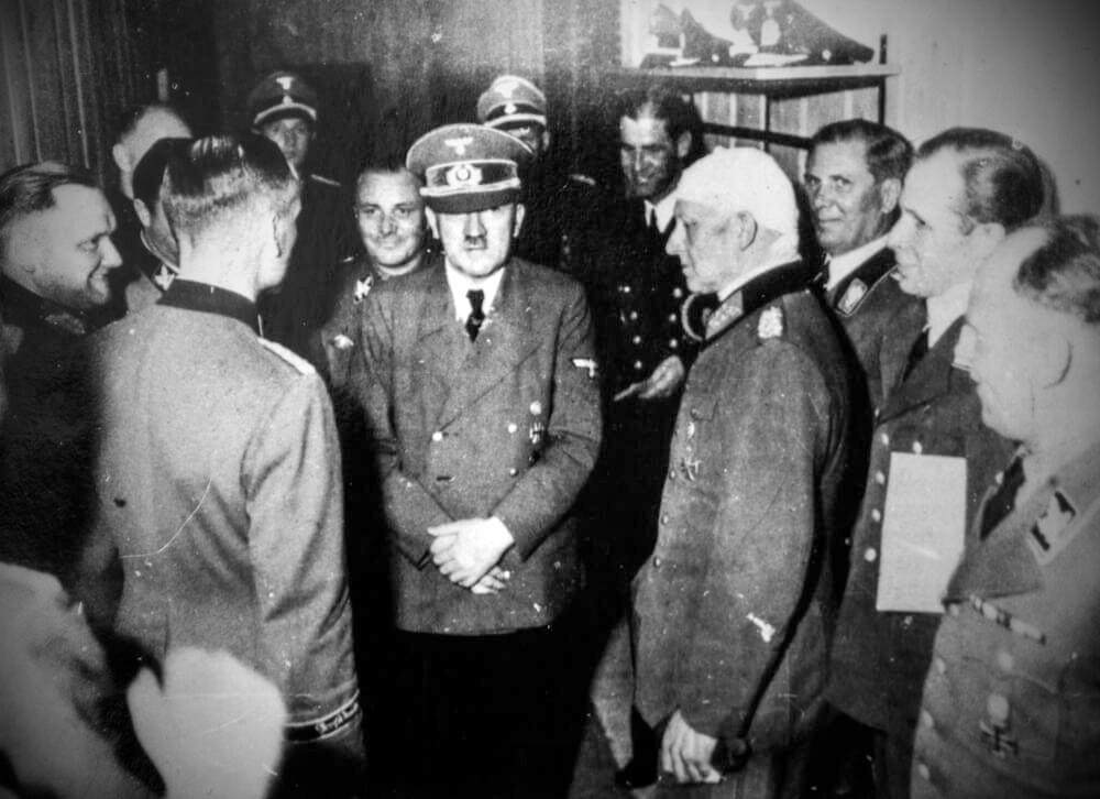 В бункере Гитлера