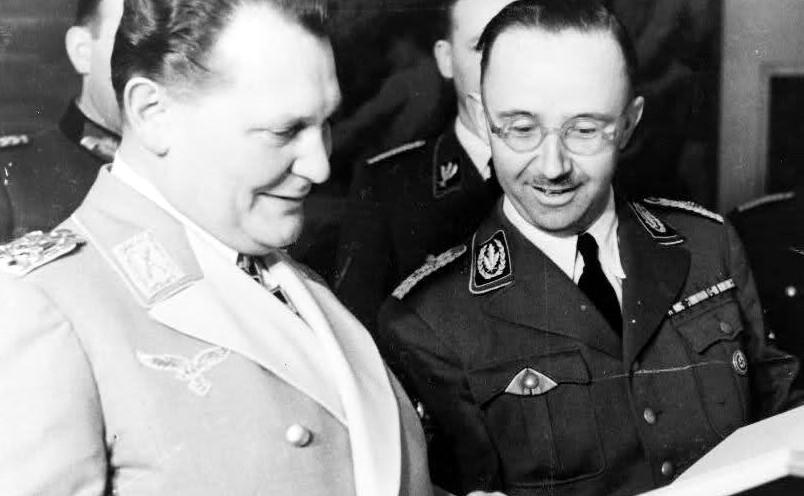 Генрих Гиммлер и Герман Геринг