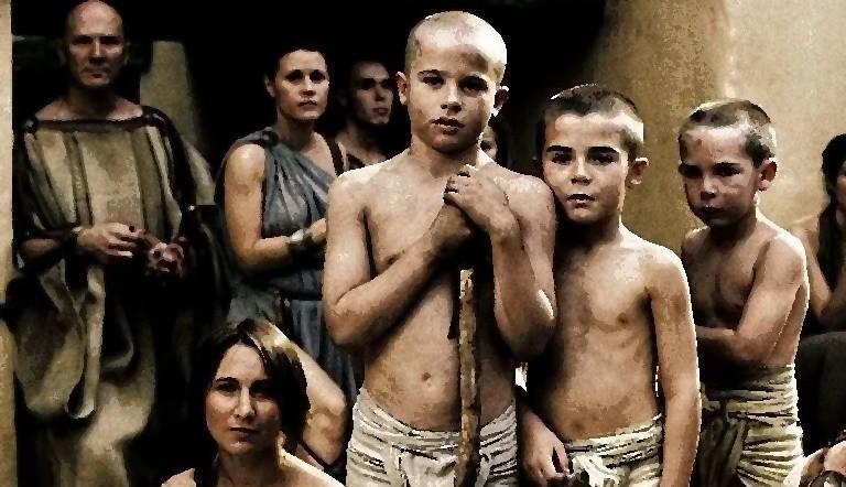 Юные спартанцы