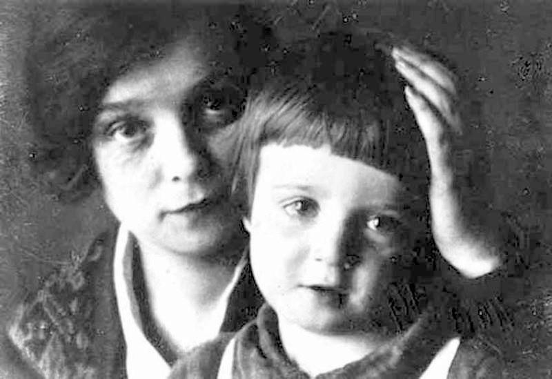 Надежда Вольпин и сын Есенина Александр