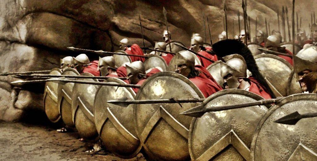 Спартанцы. Лучшие воины древнего мира.